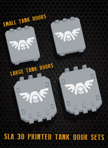 Hooded Angels Tank Doors