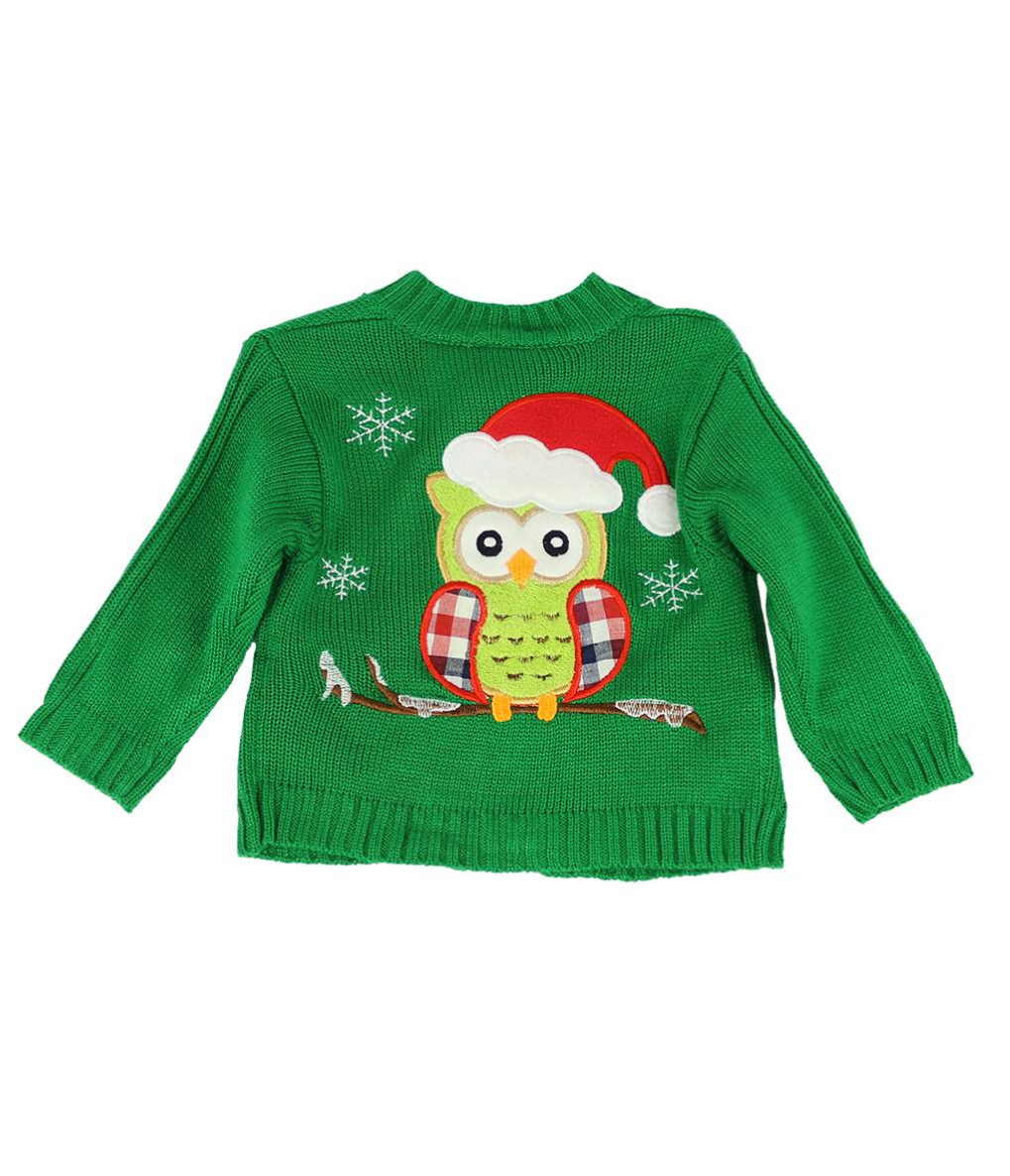 Holiday Owl Sweater