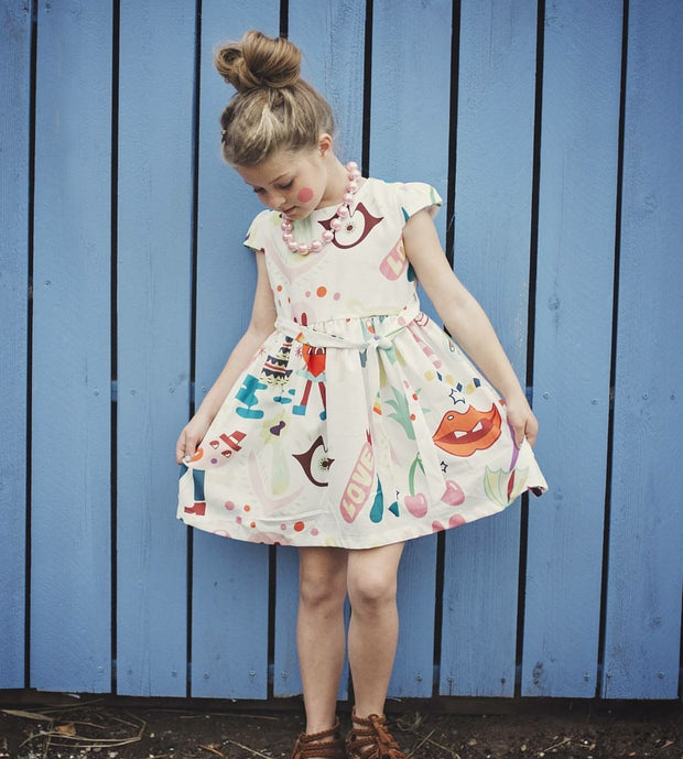 Fun Colorful Dress