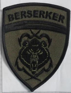 Berserker Crest Patch (Subdued)