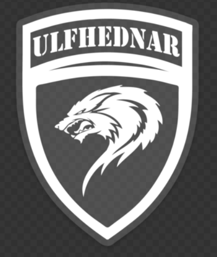 Ulfhednar Crest Clear Sticker