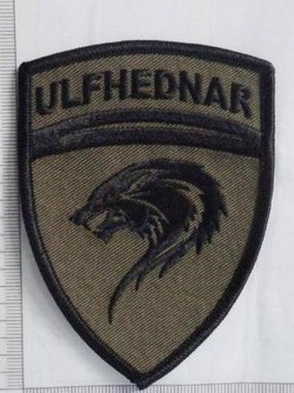 Ulfhednar Crest Patch (Subdued)