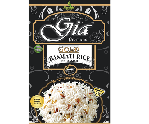 8Gia Gold Premium Basmati Rice - 6 Packs x 8lbs