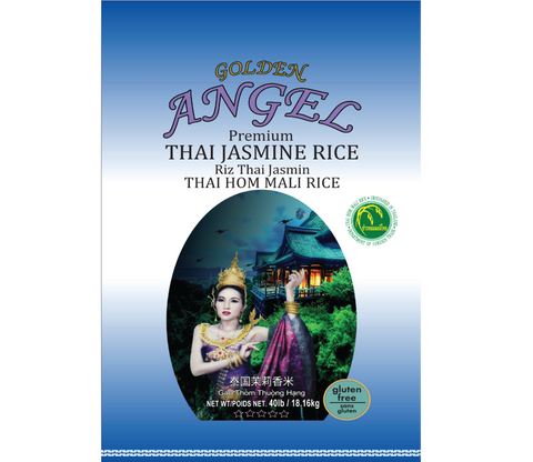 Angel Thai Jasmine Rice - 40 lbs