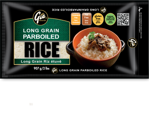 Long Grain Parboiled Rice - 12 x 2lbs