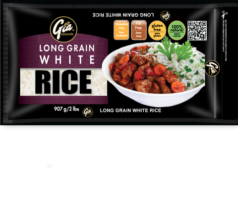 Long Grain White Rice - 12 x 2lbs