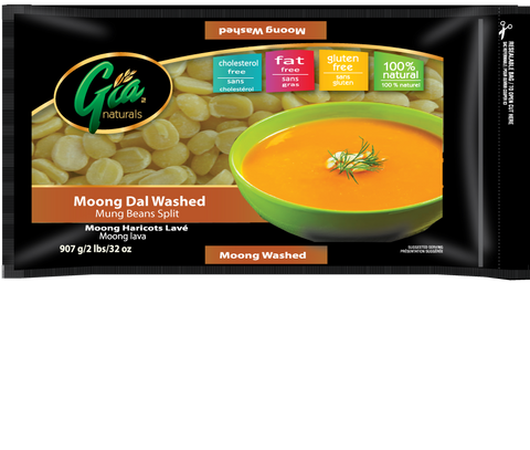 Moong Dal Washed  - 12 x 2lbs