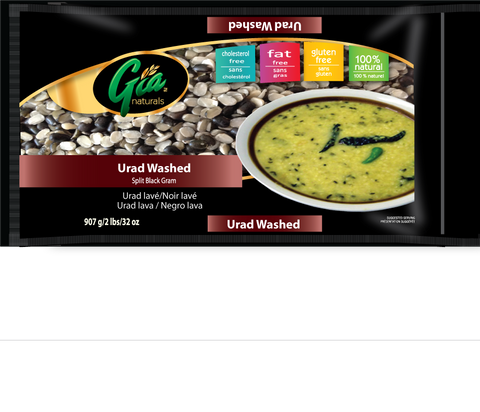 Urad Dal Washed - 12 X 2lbs