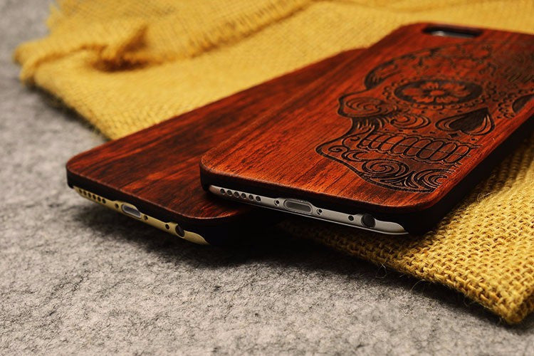 COMPASS-1 - iPhone Wooden Case