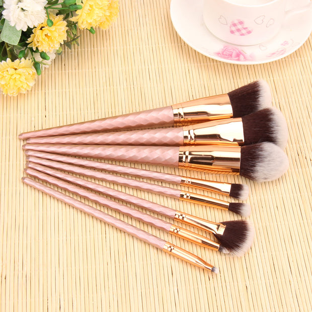 Unicorn™ Makeup Brushes - 8pc Set