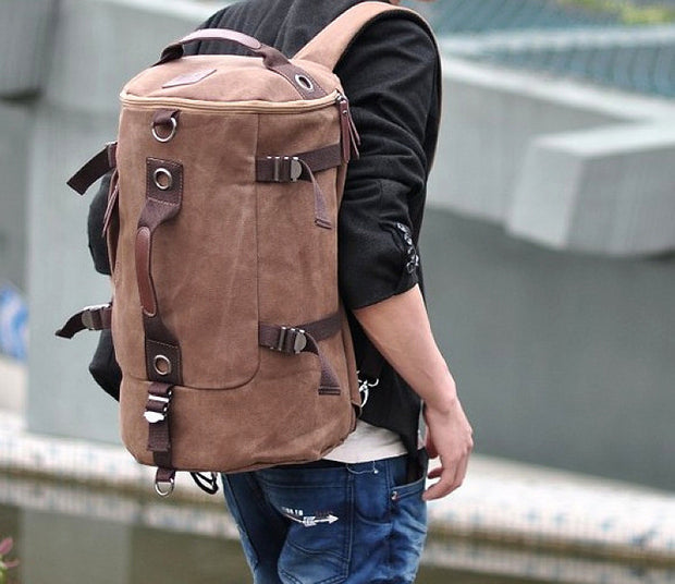 Travel Backpack (Duffel + Shoulder)