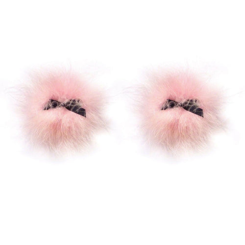 Bristol Candy Pink Fluffy Pasties