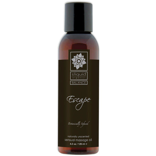 Sliquid Organics Escape Massage Oil