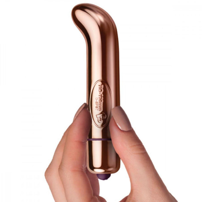 G-Spot Rose Gold Bullet Vibrator Rocks off