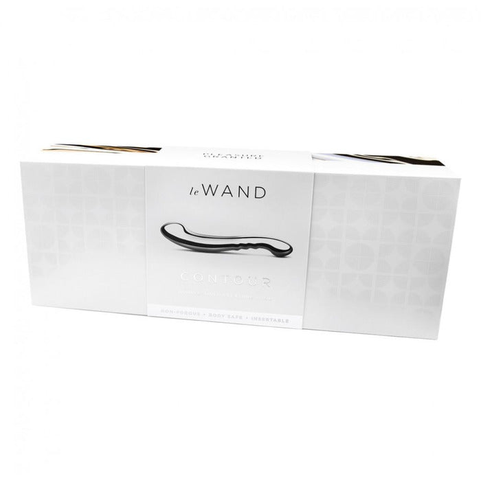 Stainless Steel Contour Dildo Dildo Le Wand