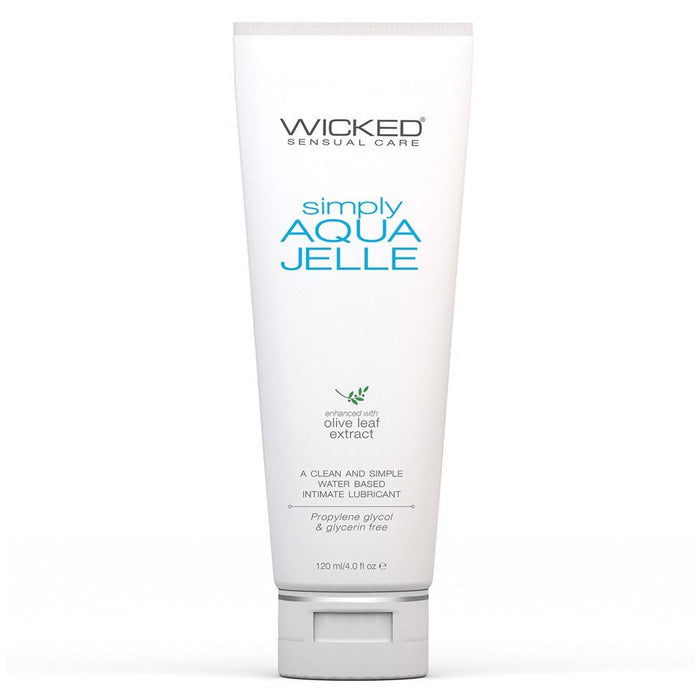Simply Aqua Jelle Lube Lube Wicked Sensual Care