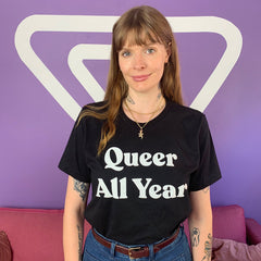 Queer All Year Tee