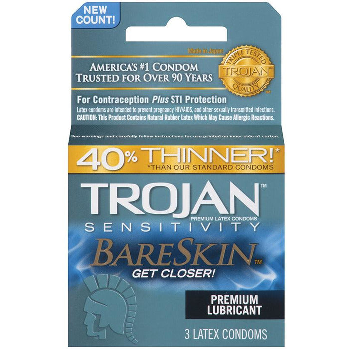 Trojan Bareskin Latex Condoms