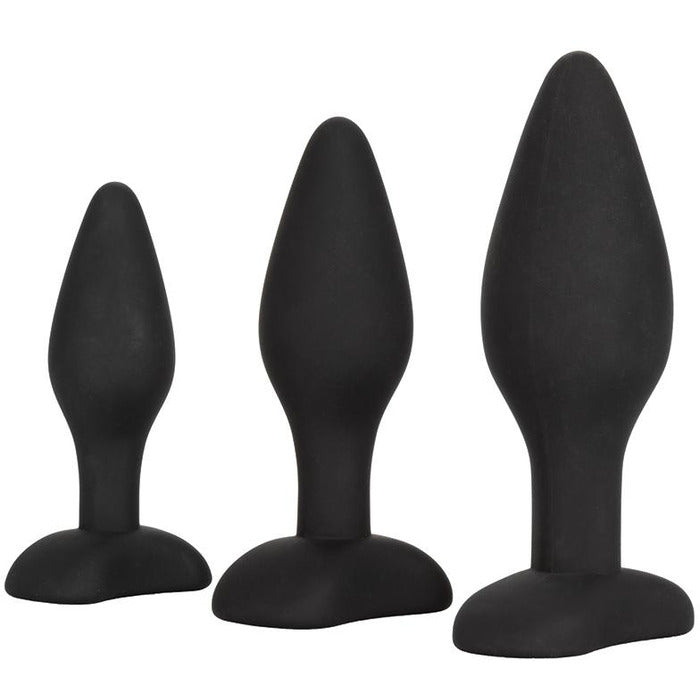 Silicone Anal Exerciser Kit