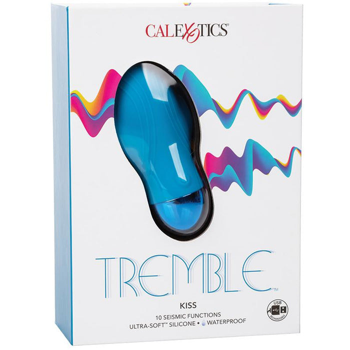 Tremble Kiss Dual Density Massager Vibrator Cal Exotics