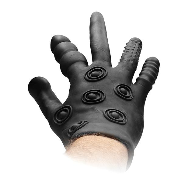 Fist It Silicone Stimulation Glove Glove Shots