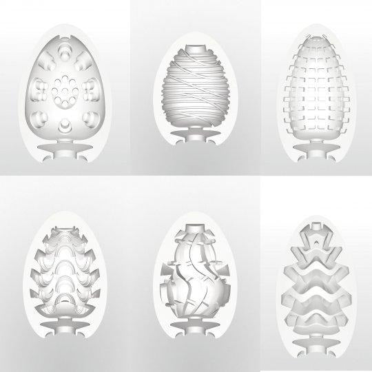Tenga Egg Masturbator Six Pack
