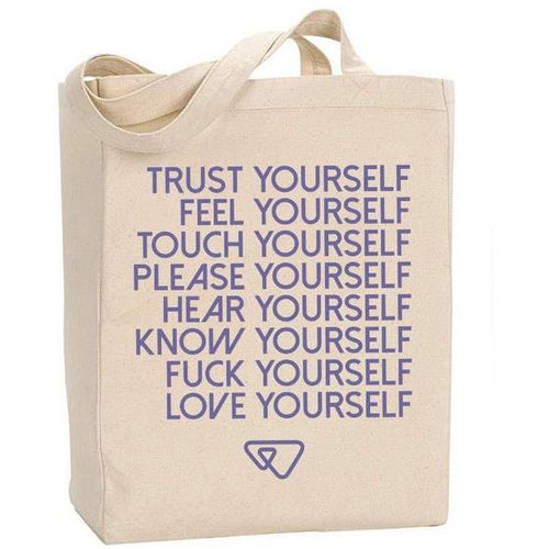 Wild Flower Love Yourself Tote