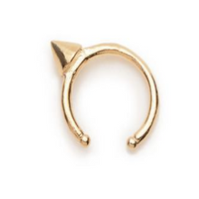 Tiny Vivienne Gold Earcuff by Bing Bang