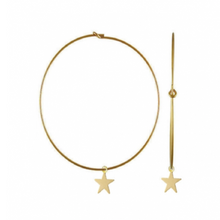 Golden Star Hoop