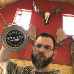 Permafrost Beards Alaskan Beard Oil and Beard Balm Made In Fairbanks Alaska, men's grooming products for your beard and mustache. Hand crafted small batch made by family run small business.