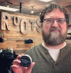 Permafrost Beards Alaskan Beard Oil and Balm made in Fairbanks Alaska get your products from Roots Hair Studio in Palmer Alaska