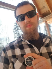 Where to buy Permafrost Beards Alaskan Beard Oil and Beard Balm. Made In Alaska get Permafrost Beards products at Sunshine Health Foods Roots Hair Studio Palmer Alaska