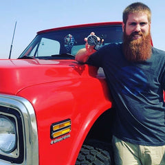 Permafrost Beards Beard Famous, use the best beard products on the planet Made In Fairbanks Alaska, Buy the Bear. Chevy Truck and a red beard, beard products, beard balm, beard wash, beard oil, and mustache wax.