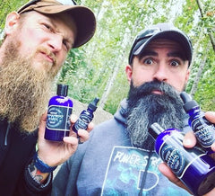 Permafrost Beards Alaskan beard oil and beard balm made in Fairbanks Alaska best beard products in the world. Compete for Mr. Facejacket at the howling dog.