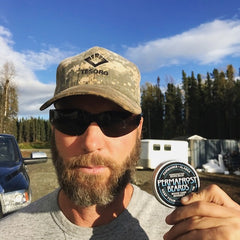 Permafrost Beards beard and mustache prodcuts Made In Alaska, by an Alaskan combat veteran. Amazing beard balm and oils tested in the last frontier.