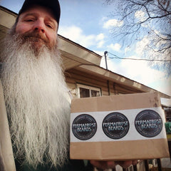 Permafrost Beards Alaskan Beard products Made In Fairbanks Alaska. Andy and his wizard beard. Best handmade products in all of Alaska and the world. Get all your mens grooming needs here.