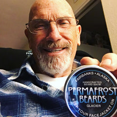 Permafrost Beards Alaskan Beard Oil and Beard Balms all Made In Alaska and Veteran owned. Get the best beard and mustache care in the world right here. Ak Lady Barber in Plamer does awesome Facejacket trims!