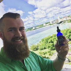 Alaskan Beard Oil and balm made in Fairbanks Alaska mustache wax and men's grooming products all natural Permafrost Beards Beard Oil and Balm