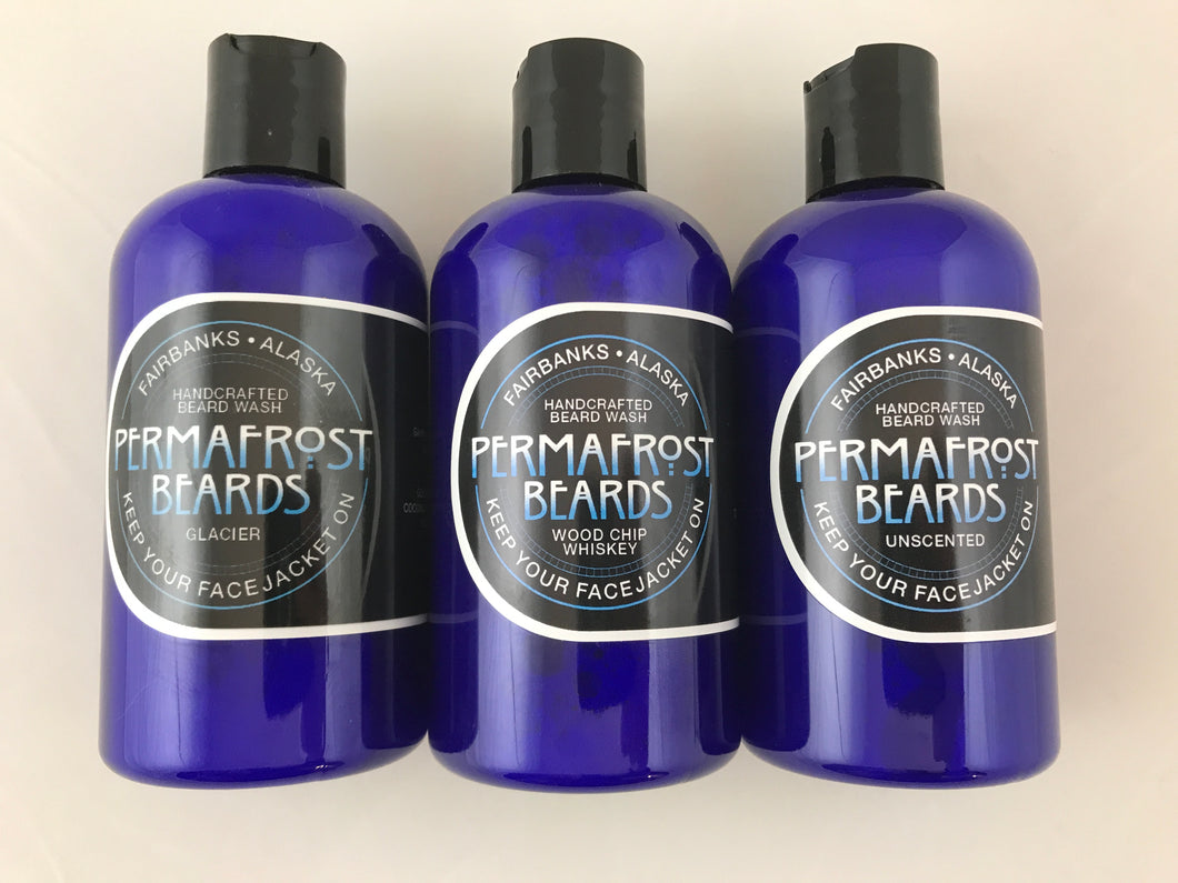 Beard Wash 8 oz. by Permafrost Beards