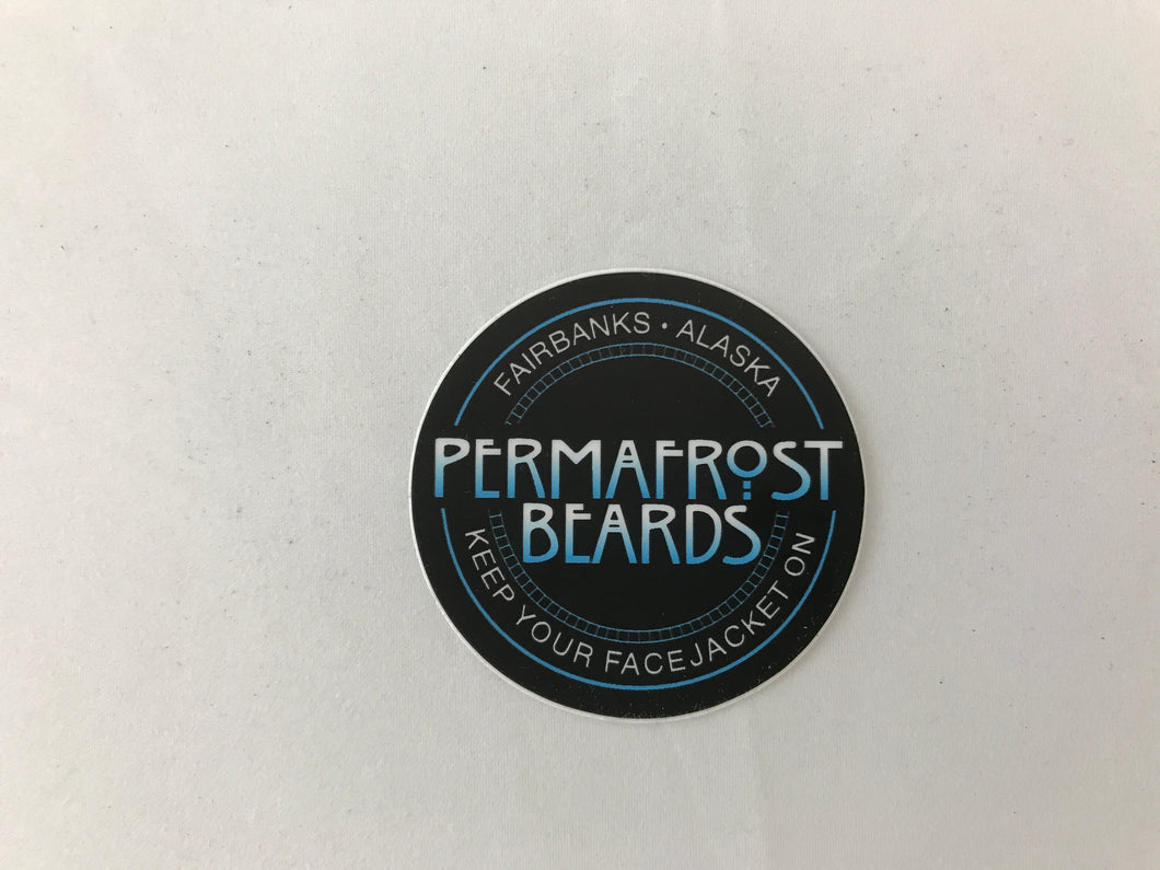 Small Permafrost Beards Sticker