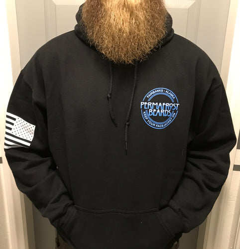 Permafrost Beards Grunt Style Pull Over Hoodie.