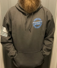 Permafrost Beards Grunt Style gray pull over hoodie. Get this amazing hoodie before they run out!