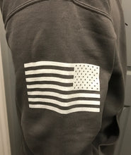 Permafrost Beards Grunt Style gray pull over hoodie. Get this amazing hoodie before they run out! Yes, it has the American flag! USA! USA!