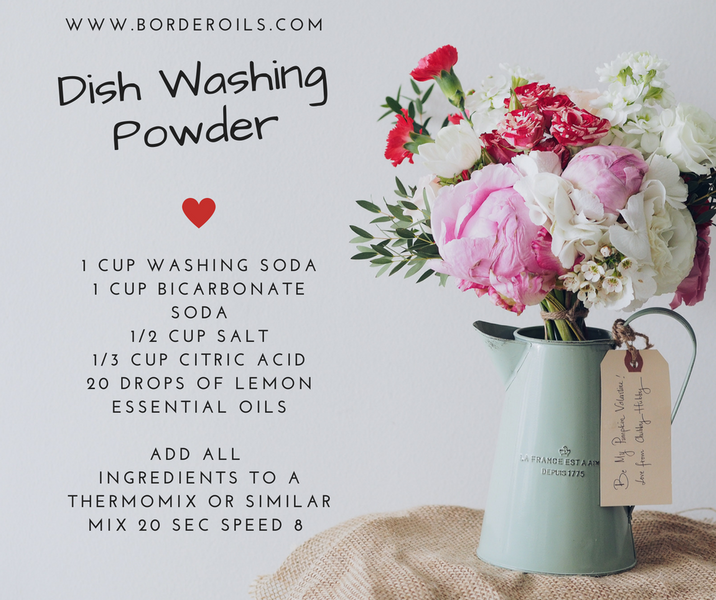 DIY Dish Washing Powder