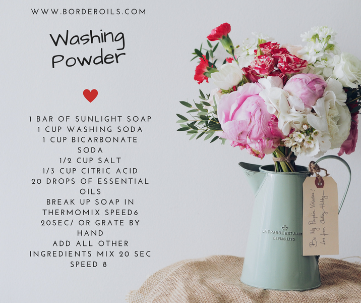 DIY Washing Powder