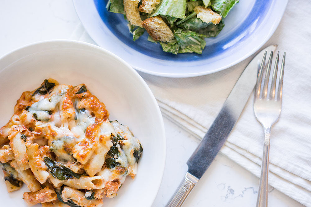 Meal Plan Baked Ziti