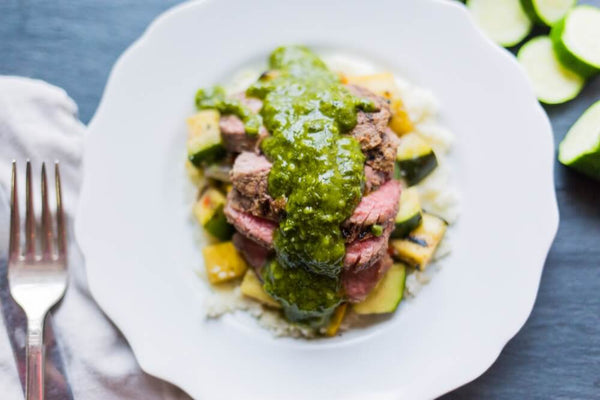 Cilantro Pesto Steak - Soli