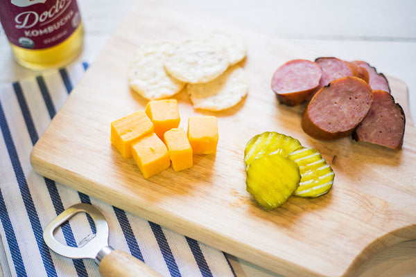 Smoked Sausage + Cheese Plate