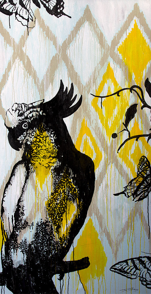 Cockatoo / Yellow - Jo Stanes