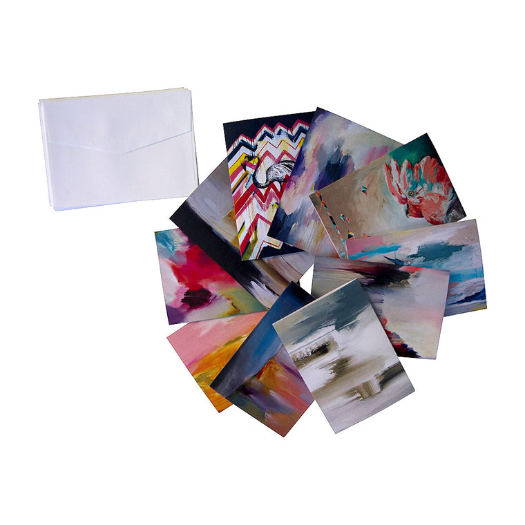 Cubism Greeting Cards - Jo Stanes